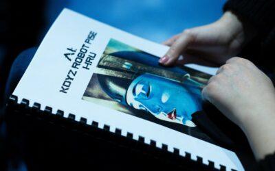 Spolupráce s robotem, který napsal divadelní hru – THEaiTRE