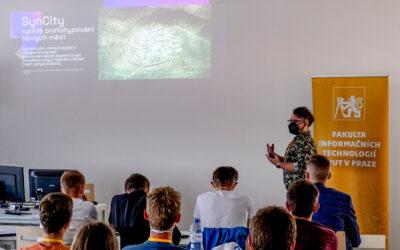 AI prezentace na ČVUT letní škole design sprintu